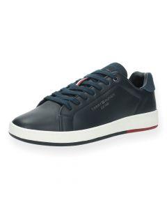 Blauwe sneakers Retro Tennis