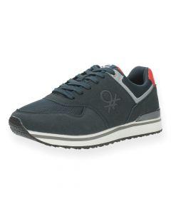 Blauwe sneakers Bumber