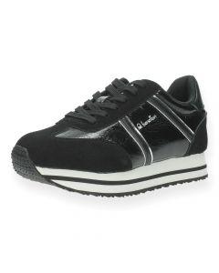Zwarte sneakers Vex