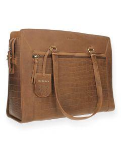 Cognac shopper Workbag