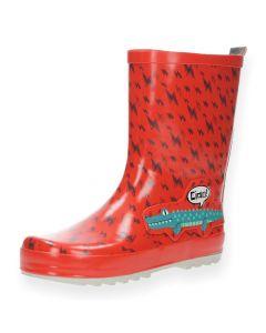 Rode regenlaarzen Alligator