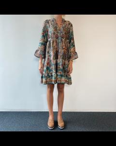 Multicolour kleedje bloemenprint