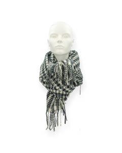 Zwarte sjaal Fernanda