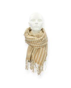 Camel sjaal Fernanda