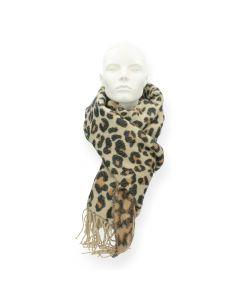 Luipaardprint sjaal Feline