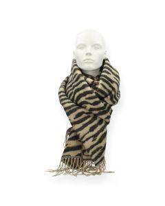 Zebraprint sjaal Feline