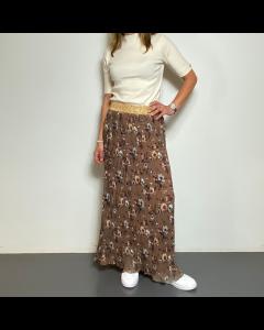 Lange bruine rok