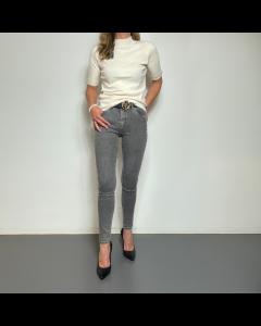 Grijze jeansbroek