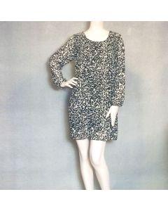 Beige kleedje luipaardprint