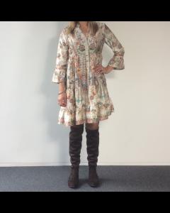 Multicolour kleedje Beige