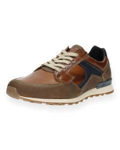 Cognac sneakers