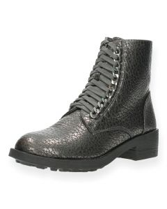 Metallic bottines