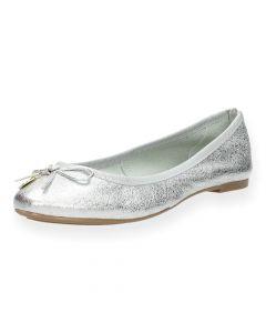 Zilveren ballerina's