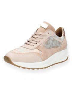 Roze sneakers