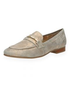 Beige loafers