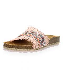 Roze slippers