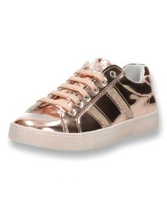 Metallic roze sneakers