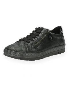 Donkergrijze sneakers