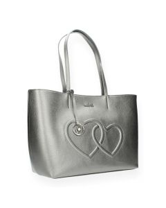 Metallic shopper