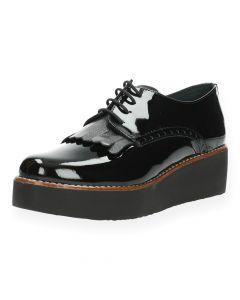 Zwarte veterschoenen