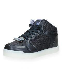 Blauwe sneakers met lichtjes
