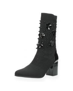 Zwarte sock boots