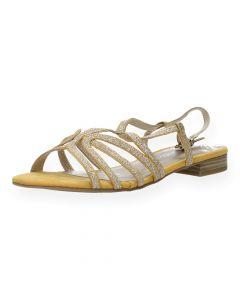 Gele sandalen