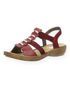 Bordeaux sandalen