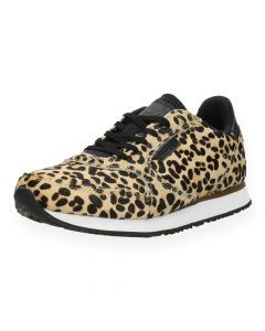 Luipaardprint sneakers