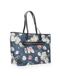 Bloemenprint shopper