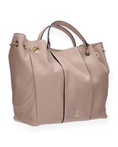 Roze shopper