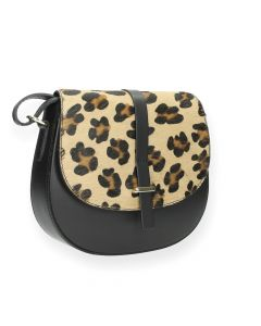 Luipaardprint crossbody
