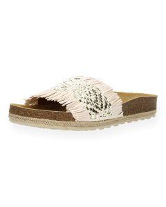 Lichtroze slippers