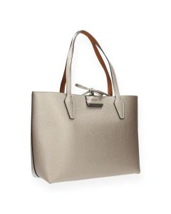 Bronzen shopper