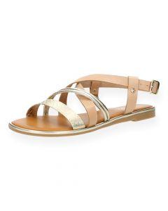 Roze sandalen