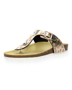 Bronzen slippers
