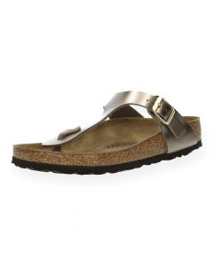 Bronzen teenslippers