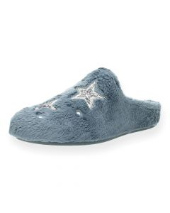 Blauwe pantoffels