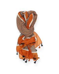 Oranje sjaal