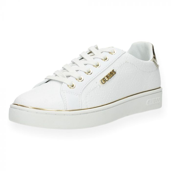 e37a39a53ce Witte sneakers van Guess | BENT.be