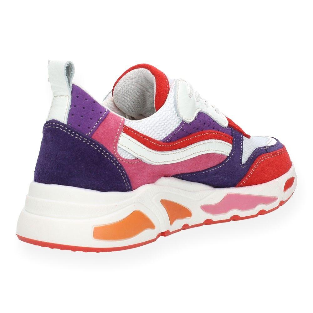 Van Ice Multicolour Hot Rood Sneakers OXuTwiPkZ
