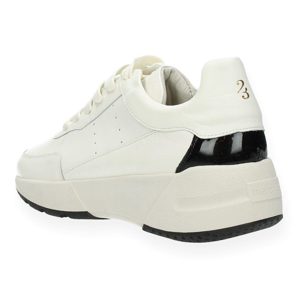 Van 23 March Witte Sneakers Zwart HE9IYWD2