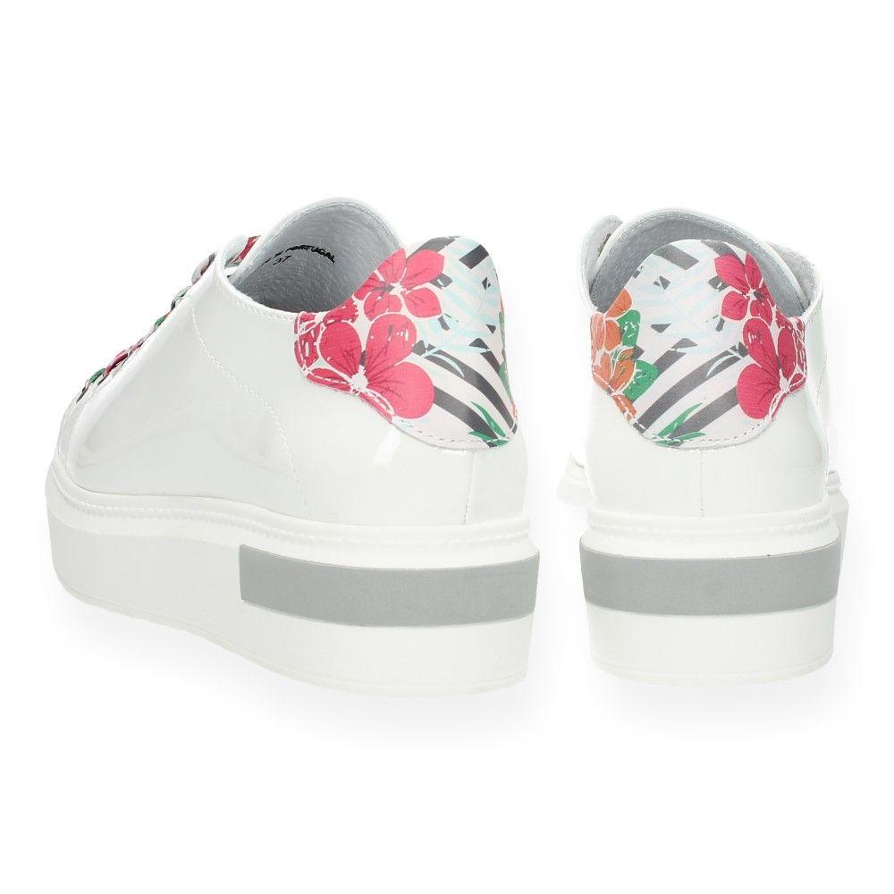 De Luxe Van Wit Cycleur Witte Sneakers Yvb6gy7f