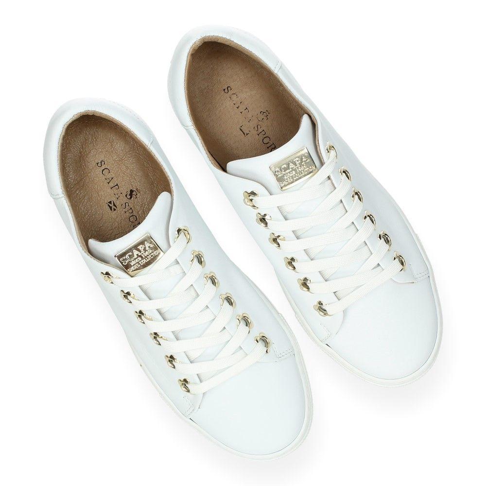 Witte Van Sneakers Sports Scapa Wit 2WHEID9Y