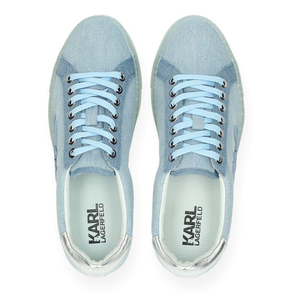 Lagerfeld Blauwe Hemelsblauw Sneakers Karl Van DHe2IYWE9