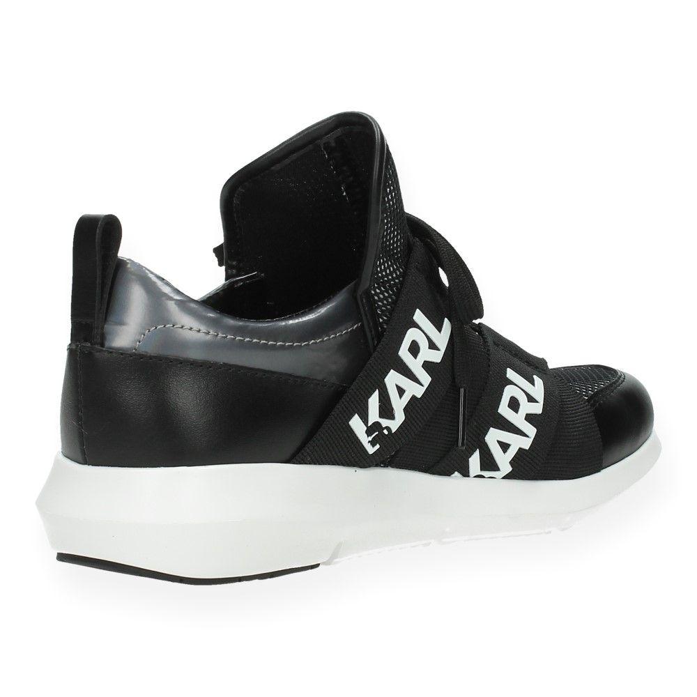 Sneakers Zwarte Zwart Karl Van Lagerfeld 7gyYbvI6f
