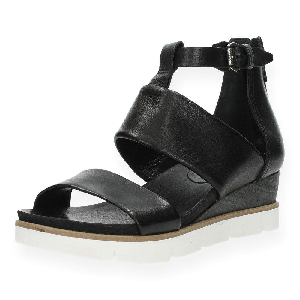 Zwarte Sandalen Mjus Zwarte Van Van Zwart Mjus Sandalen v0w8nmN