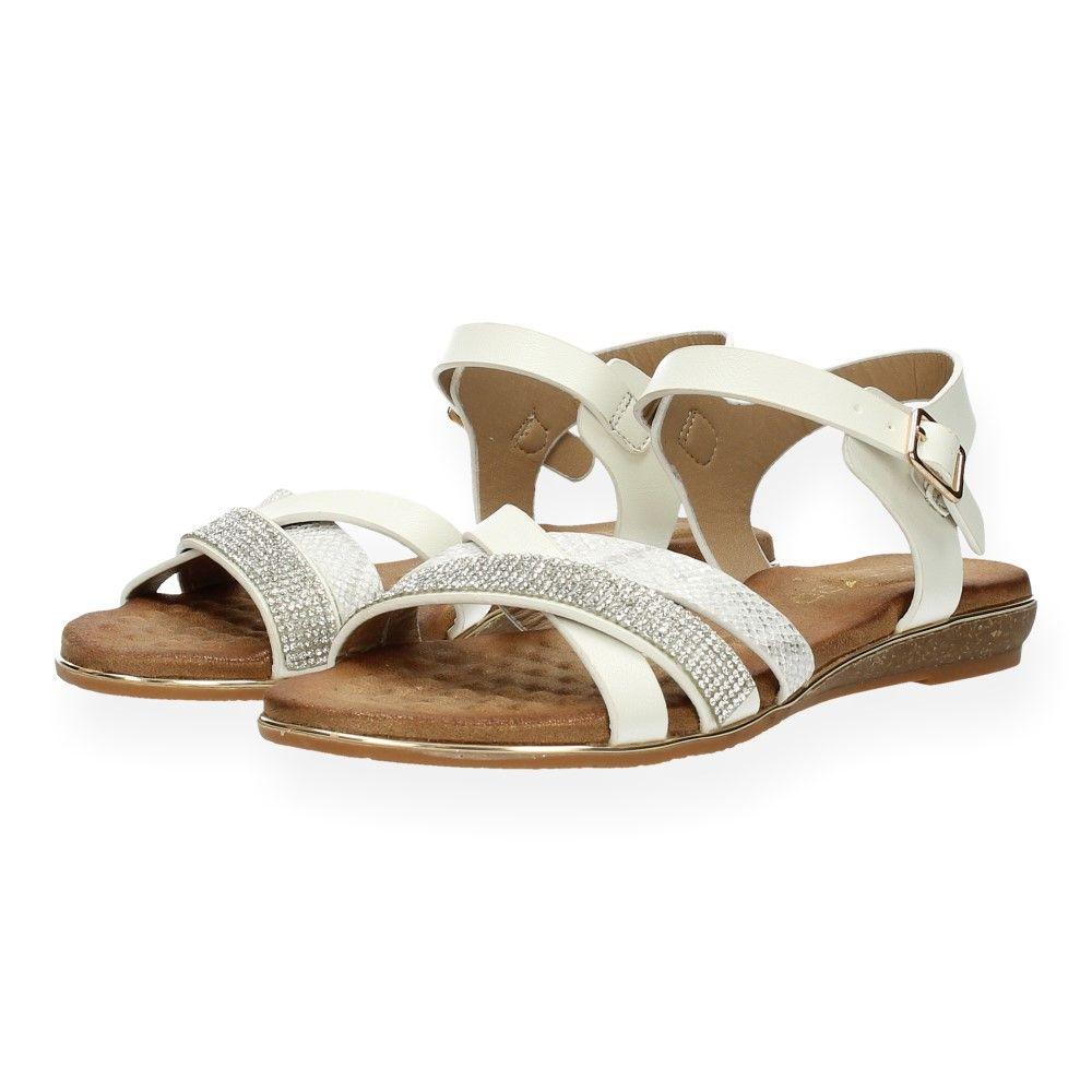 Ebl Witte Sandalen Wit 8790 Van shdxQrCt