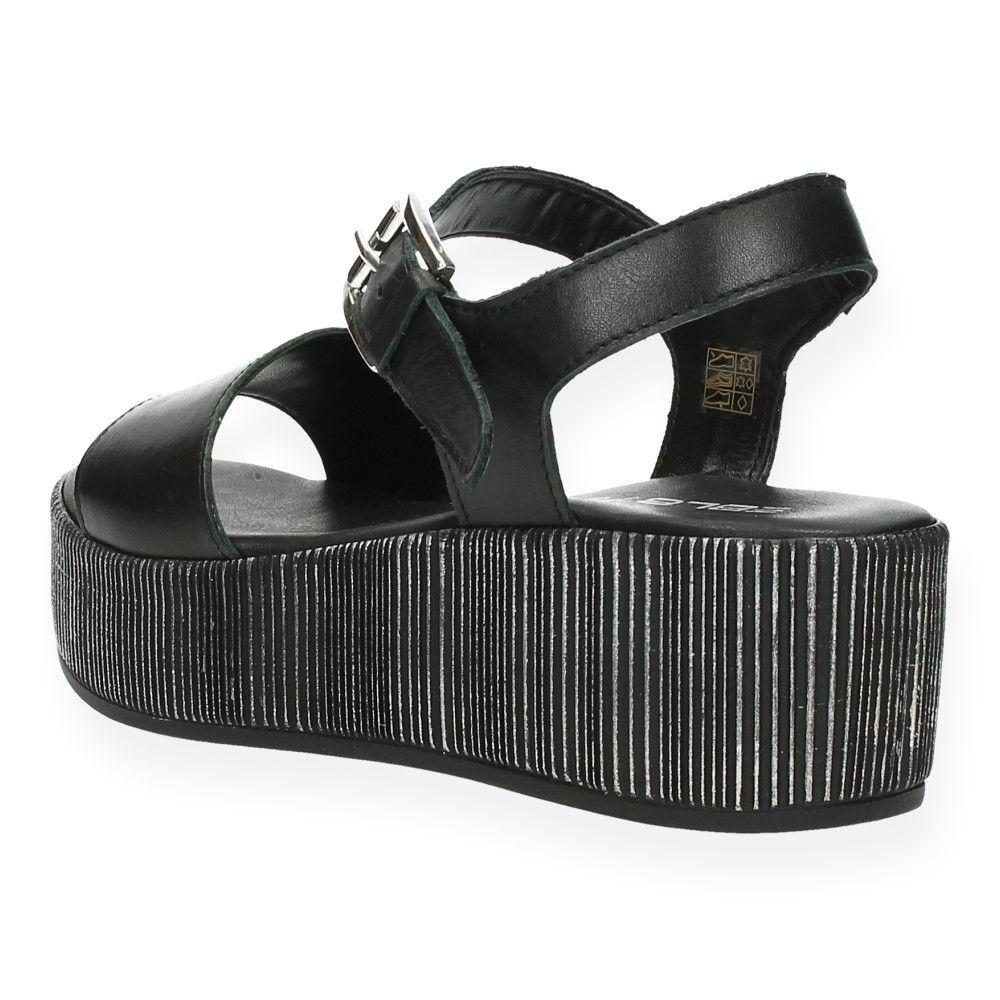 Van Ebl Zwart Sandalen 8790 Zwarte hQtsrCxd