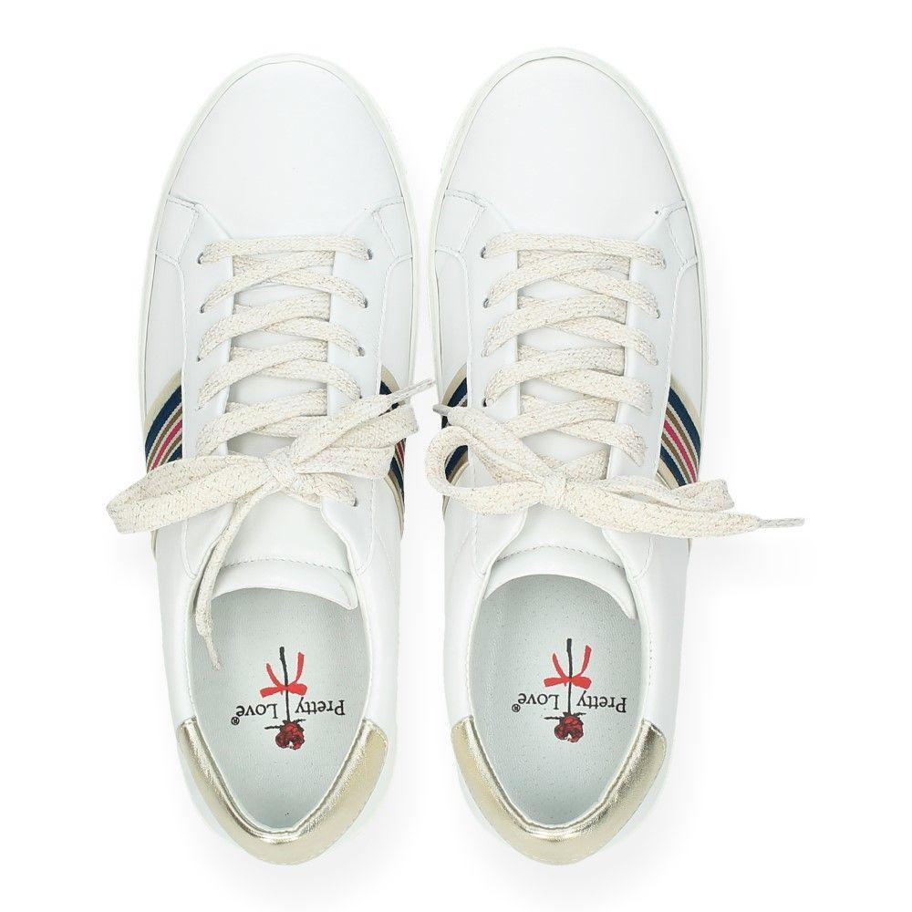 Sneakers Pretty Wit Witte Van Love yNwm8Ovn0